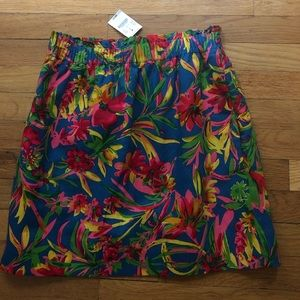 J crew mini skirt new with tags